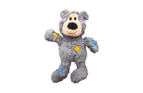 Kong Wild Knots Squeaker Bear Dog Toy