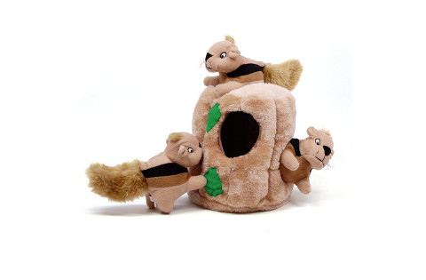 Outward Hound Hide-A-Squirrel Interactive Dog Toy